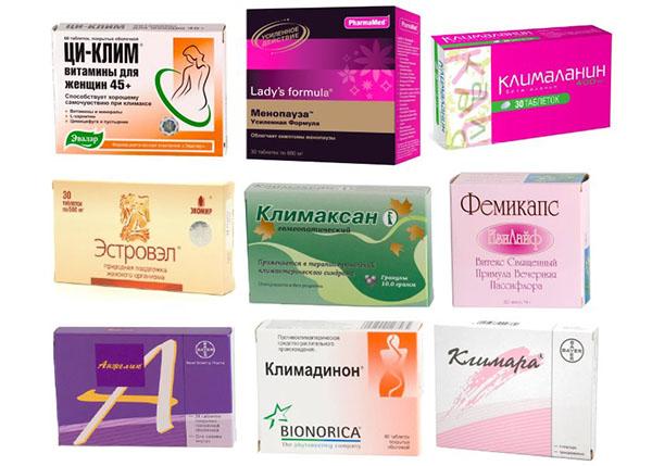 Климаксе у женщин симптомы и лечение таблетки