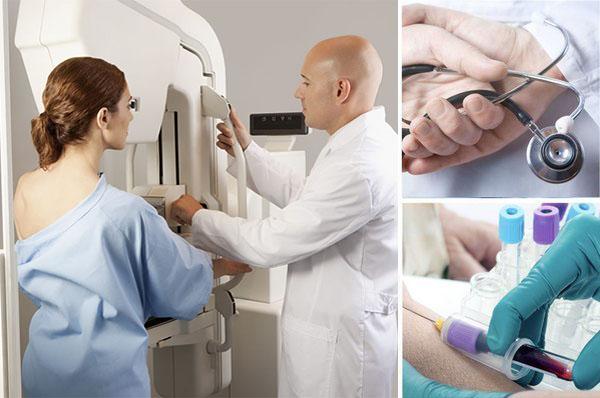 Диагностика галактореи молочной железы