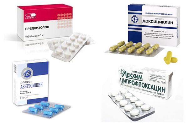 Лекарственные препараты при орхите