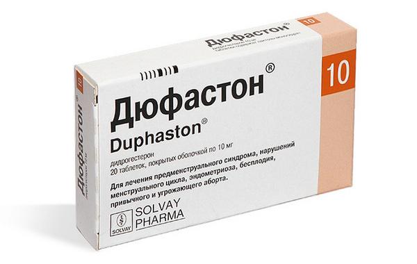 Препарат Дюфастон при кровотечениях во время беременности