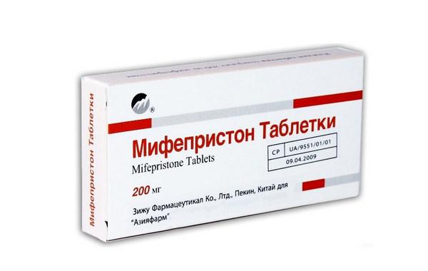 Мифепристон для вызова медикаментозного выкидыша