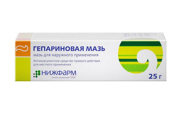 Гепариновая мазь для лечения варикоцеле