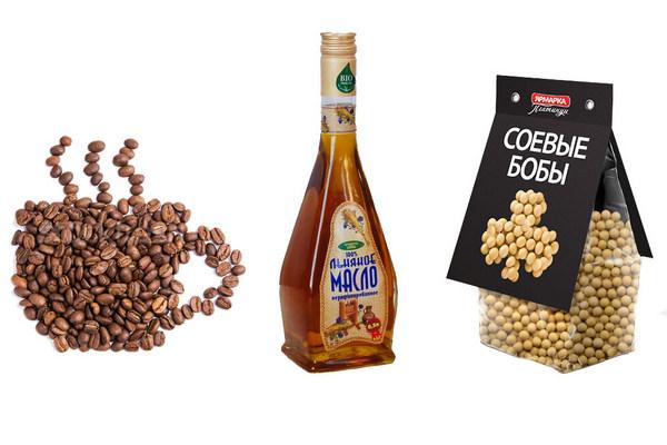 Соя, кофе и льняное масло для повышения уровня эстрогена