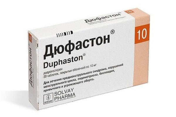 Препарат Дюфастон - синтетический прогестерон в таблетках
