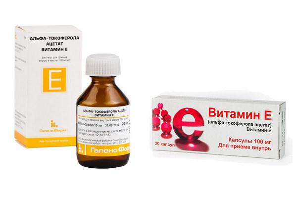 Витамин Е для повышения уровня эстрогена