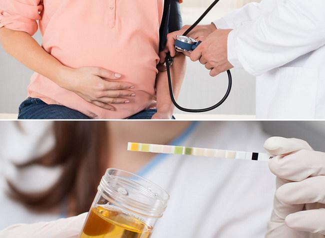 Замер давления и анализ мочи, как методы диагностики нефропатии