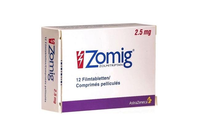 Препарат Зомиг применяемый в терапии менструальной мигрени