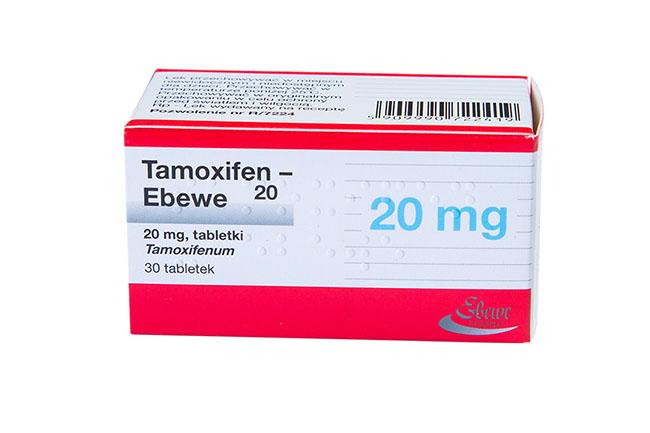 Антиэстрогенный препарат Тамоксифен, применяемый при высоком уровне прогестерона