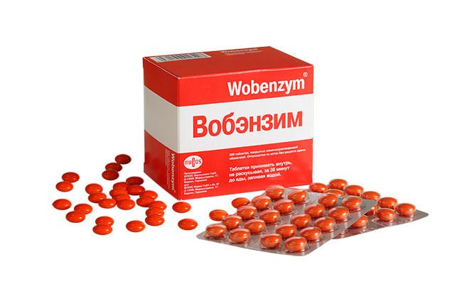 Вобэнзим применяемый для лечения венозного расширения вен органов малого таза