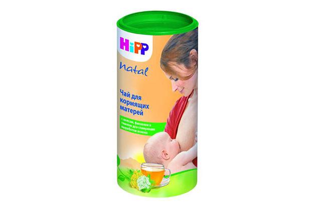 Чай HIPP для увеличения лактации