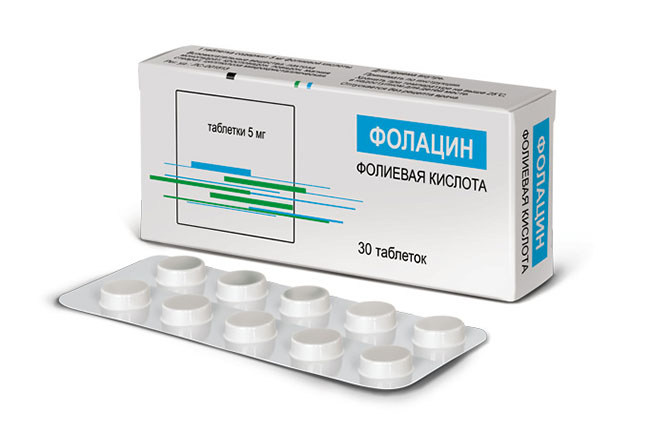 Препарат Фолацин применяемый при планировании беременности