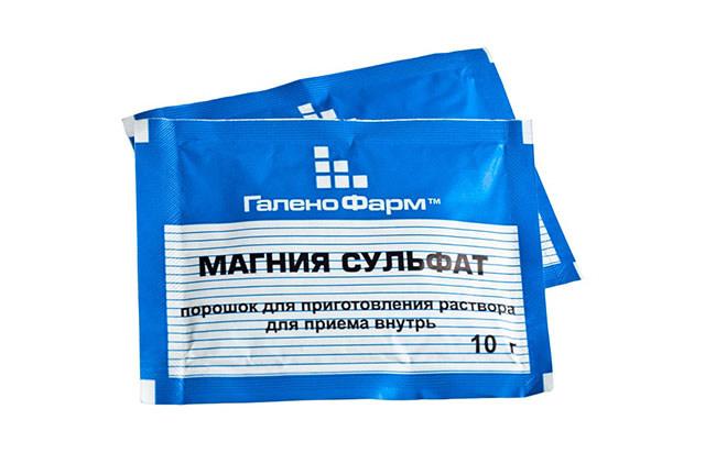 Сульфат магния (магнезия), как средство по остановке преждевременных родов