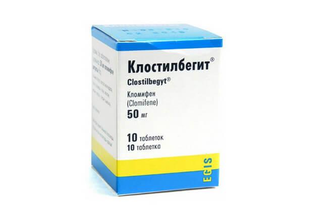 Антиэстрогенное средство, ускоряющее процесс созревания фолликулов