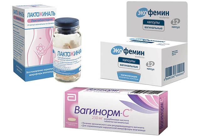 Таблетки для восстановления вагинальной микрофлоры