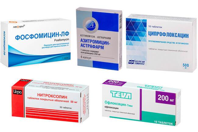Антибиотики при уретрите и простатите как отличить простатит от рака