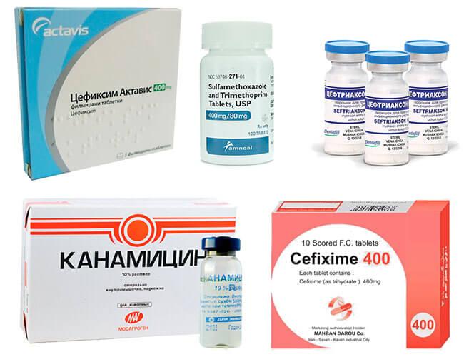 Антибиотики при уретрите и простатите у мужчин настойка из чеснока для лечения простатита