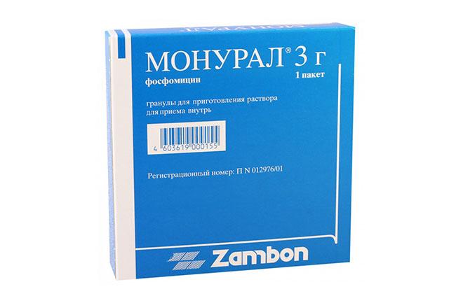 Антибактериальное средство Монурал